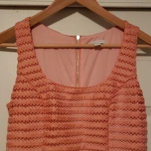 NY & company Eva Mendez collection coral dress